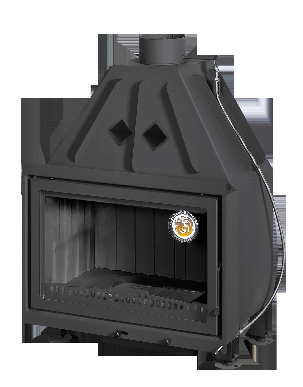 АЛЬФА 700-150В черный шамот